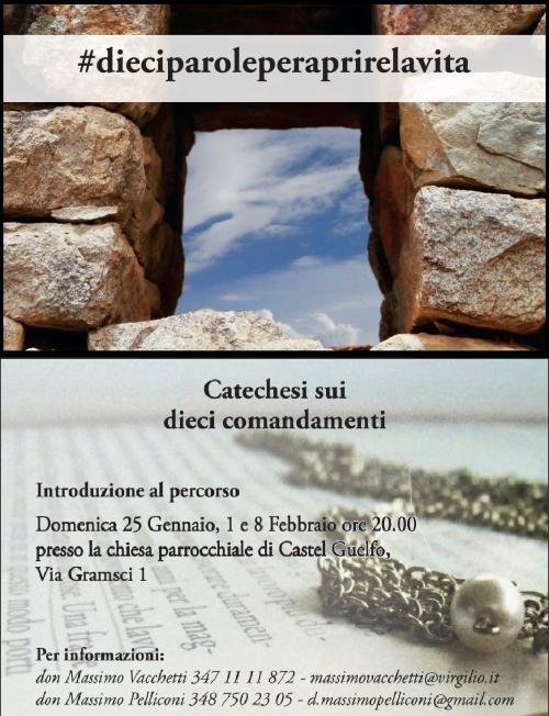 10 comandamenti castel guelfo